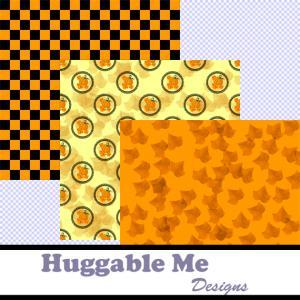 Thanksgiving Digital Papers - Print..