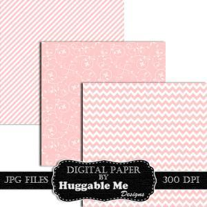 Digital Download Light Pink Pattern..