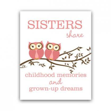 DIGITAL DOWNLOAD - Sisters Quote Ar..