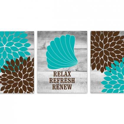 DIGITAL DOWNLOAD - Brown and Teal B..