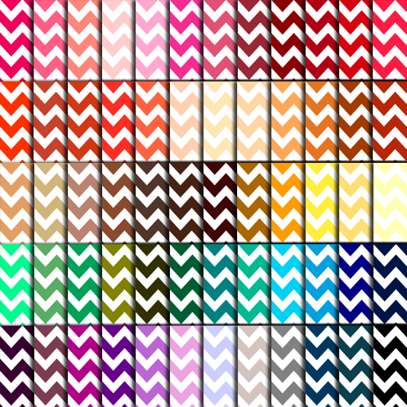 picture regarding Free Printable Chevron Pattern titled Chevron Sbook Paper (60 Hues) - Chevron Electronic Paper For Marriage ceremony, Sbook Printables, Playing cards 12