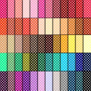 Polka Dot Paper (60 Colors) - Polka Dot Paper for Wedding, Scrapbook Printables, Cards 12